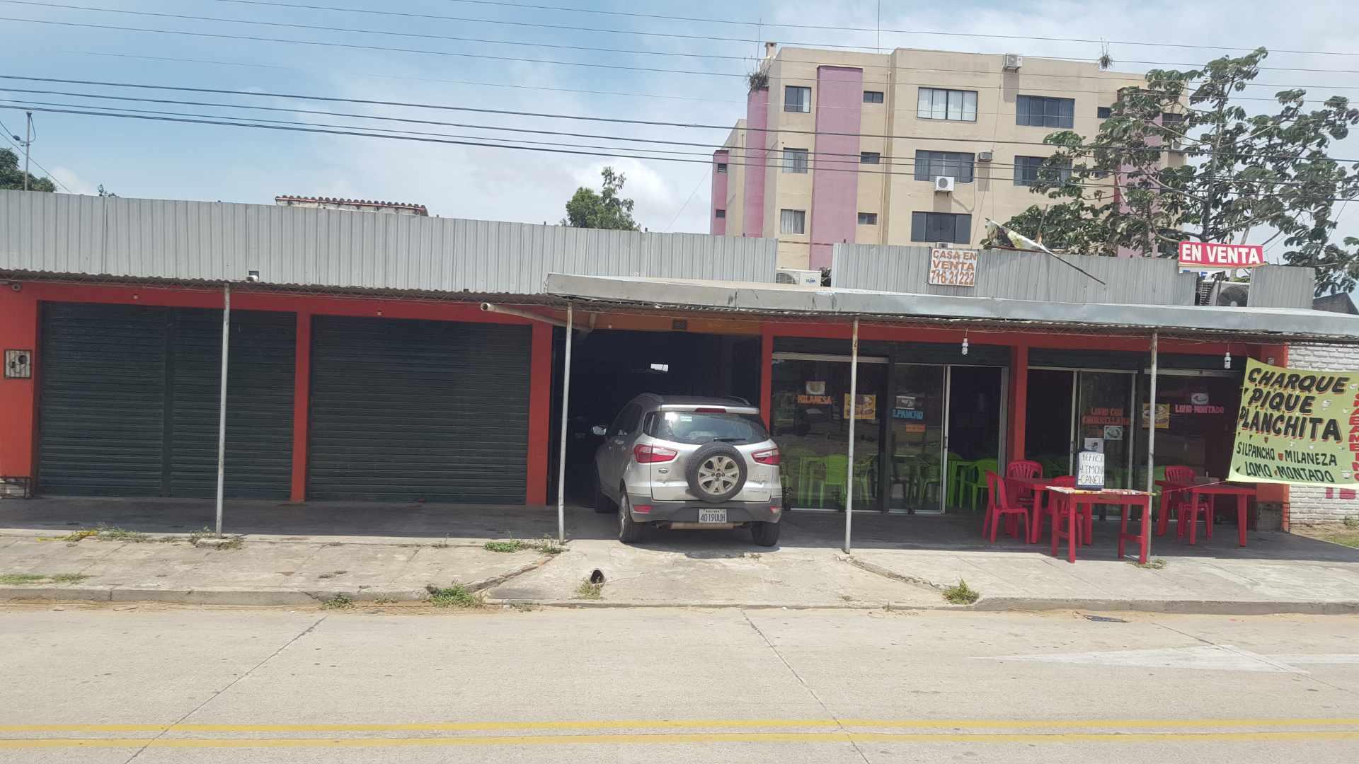 Local comercial en Venta Av. Rolando de Chazal a 10 mts del 4to anillo, amplia avenida pavimentada entre Brasil y Virgen de Cotoca Foto 1