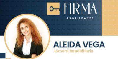 Aleida Vega - agente portada