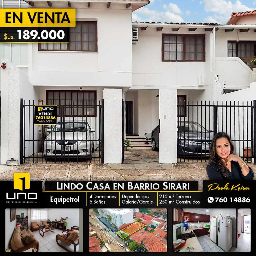 Casa en Venta Linda casa en venta en Equipetrol, Sirari Foto 1