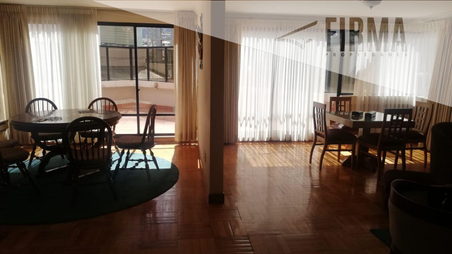 Departamento en Alquiler Hermoso Departamento Amoblado y Equipado, al ingreso de achumnai, Con amplia Terraza propia, sobre la Avenida principal.  Foto 6
