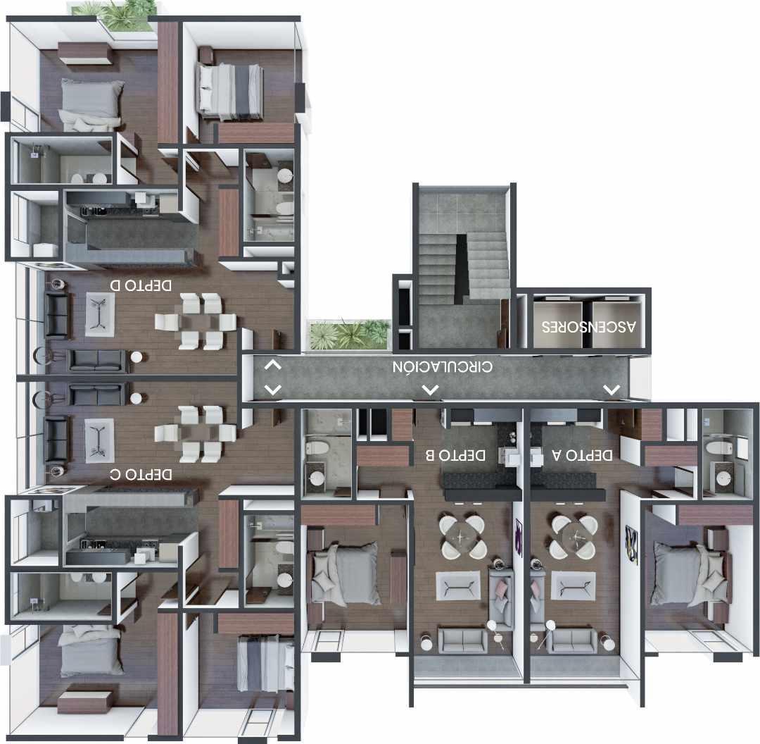 Departamento en Venta TORRE 501 - Calle 10, Esq Av. Costanera Foto 5