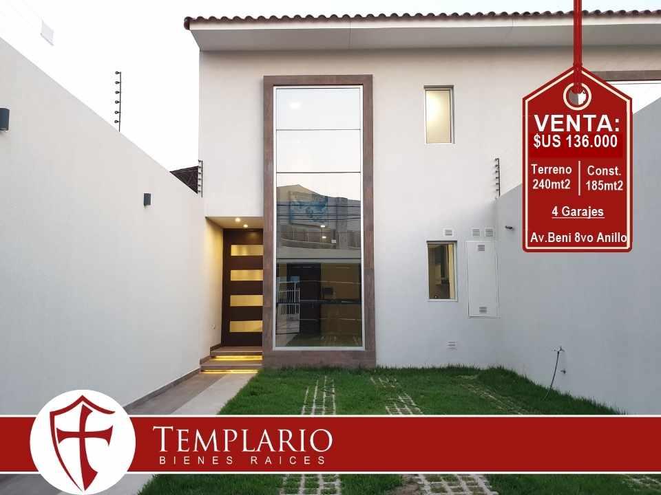 Casa en Venta Av. Beni 8vo Anillo - Zona Norte Foto 20